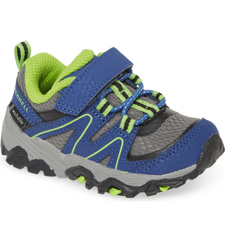 MERRELL Trail Quest Sneaker, Main, color, BLUE/ GREEN