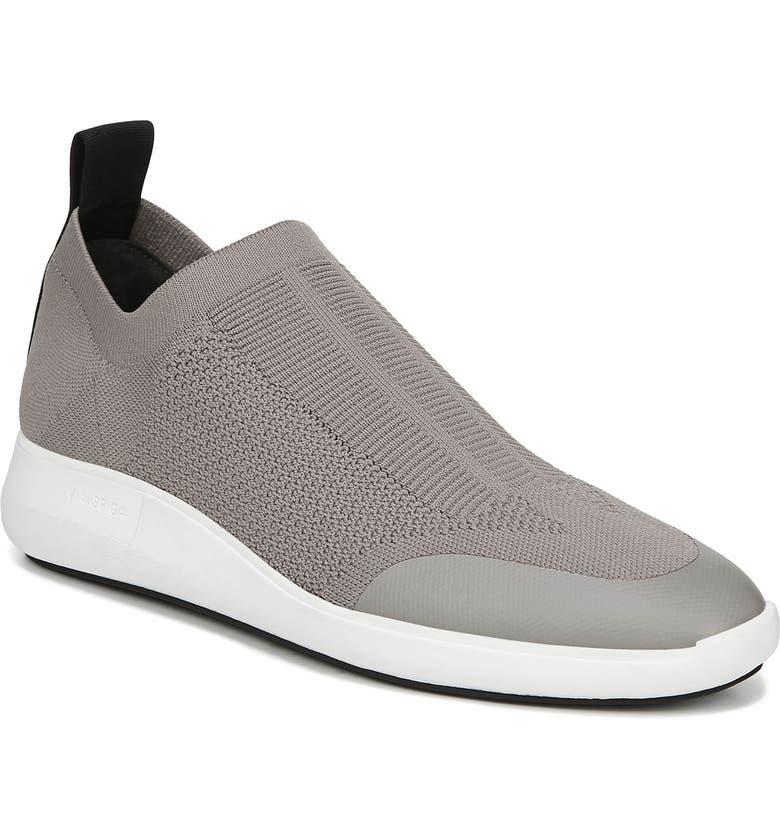 VIA SPIGA Marlow 5 Wedge Sock Sneaker, Main, color, MINK