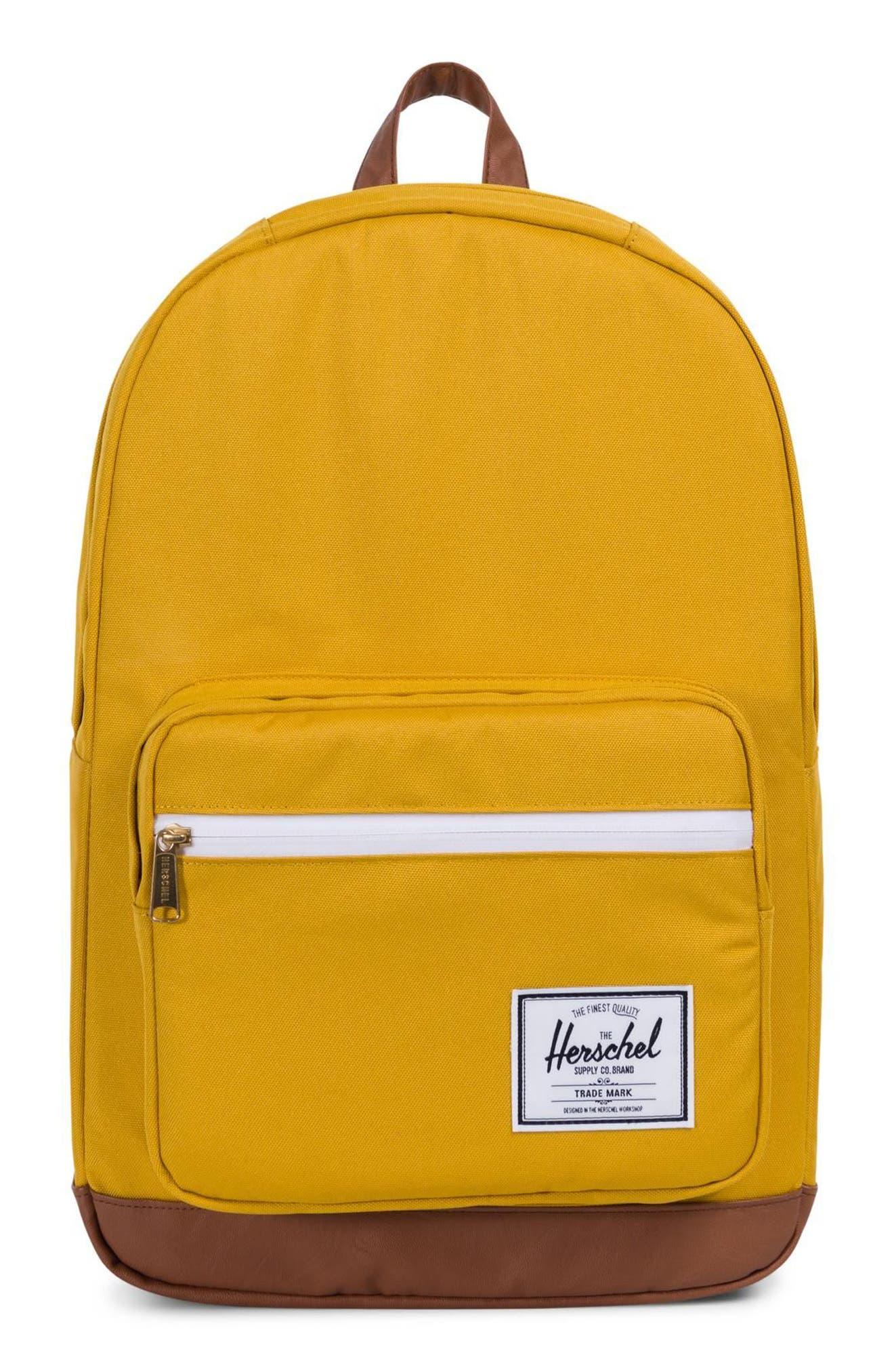 Herschel Supply Co. Pop Quiz Backpack - Yellow