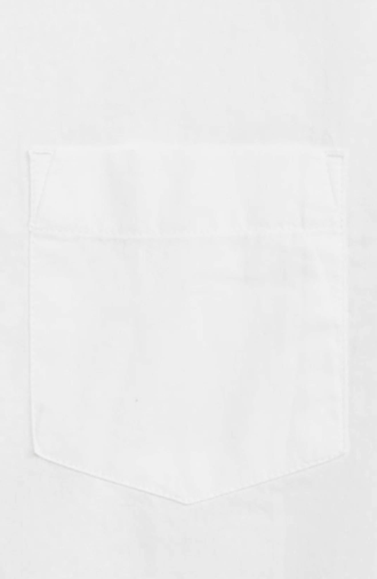 ,                             Secret Wash Poplin Shirt,                             Alternate thumbnail 2, color,                             WHITE