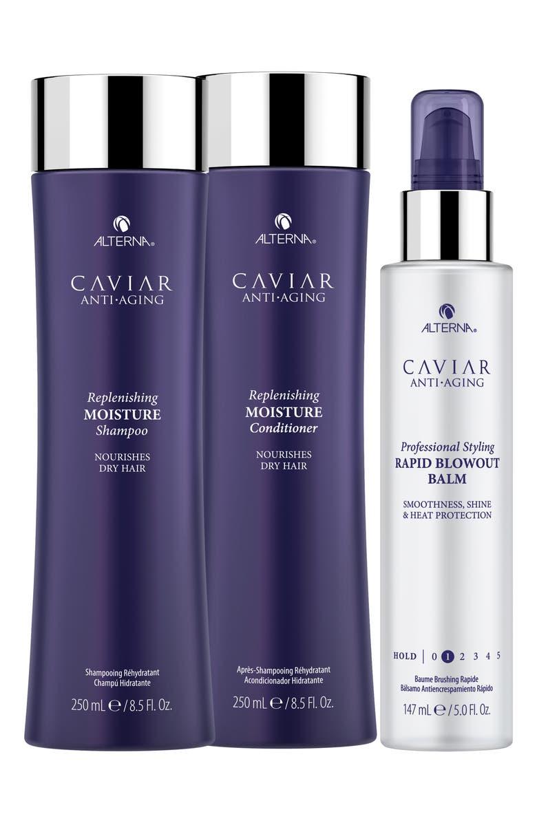 ALTERNA<SUP>®</SUP> Full Size Caviar Anti-Aging Replenishing Moisture Set, Main, color, NO COLOR