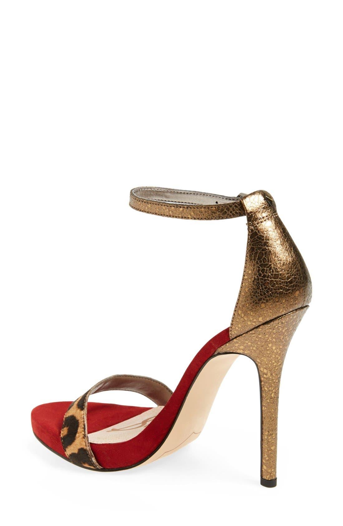 ,                             'Eleanor' Ankle Strap Sandal,                             Alternate thumbnail 93, color,                             200