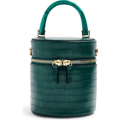 Topshop Simi Barrel Bag - Green