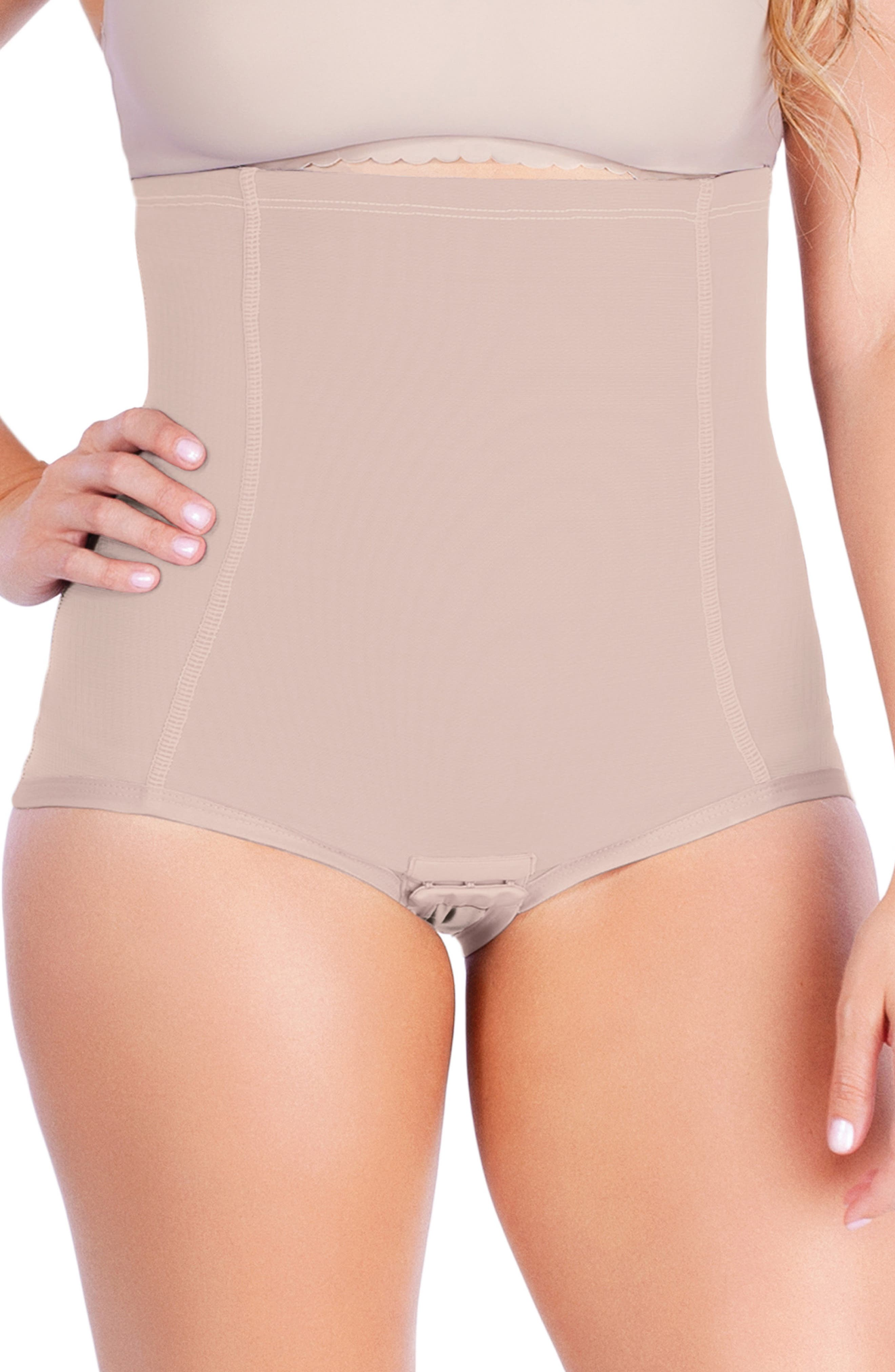 Vintage Lingerie | New Underwear, Bras, Slips Womens Belly Bandit Postpartum Girdle Size X-Small - Beige $59.95 AT vintagedancer.com