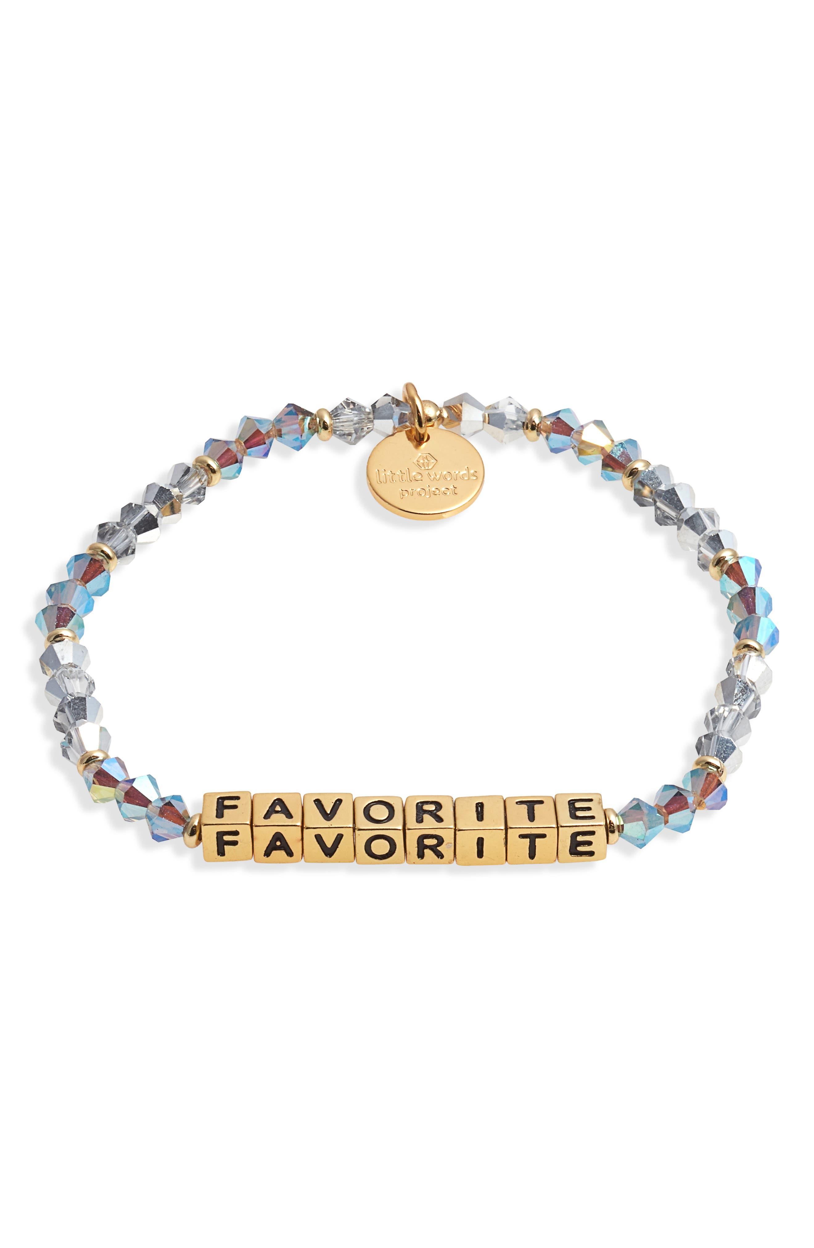 Favorite Beaded Stretch Bracelet