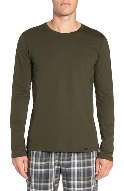 Hanro T-shirts LIVING LONG SLEEVE T-SHIRT