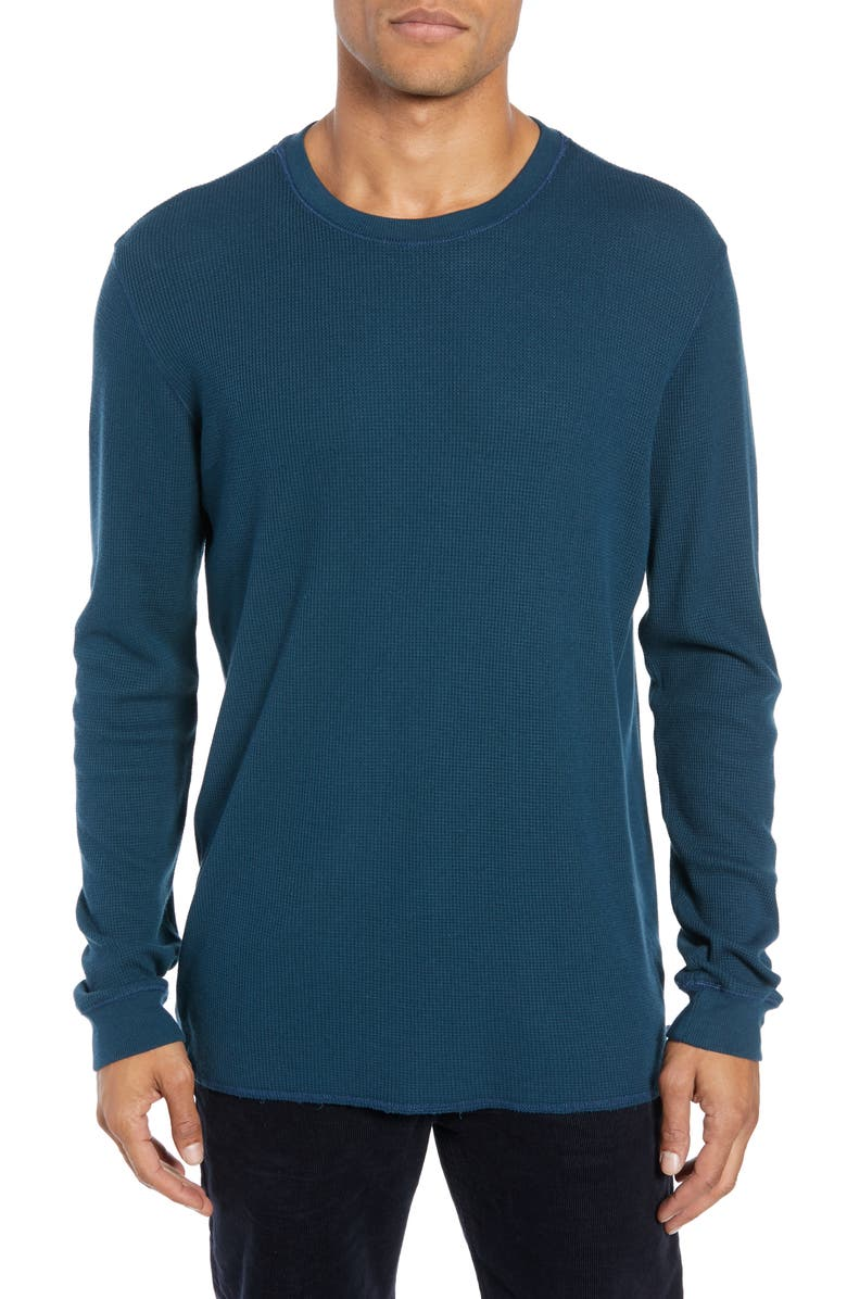 AG Kipp Slim Fit Thermal T-Shirt, Main, color, DEEP ABYSS