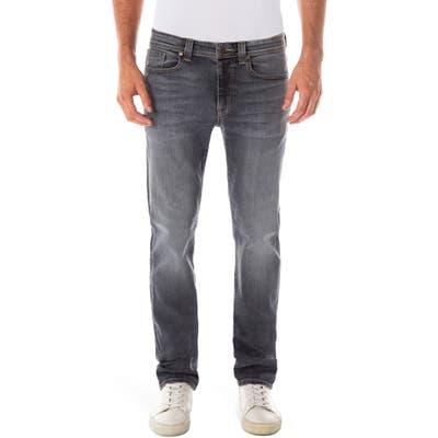 Fidelity Denim Jimmy Slim Straight Leg Jeans, Black
