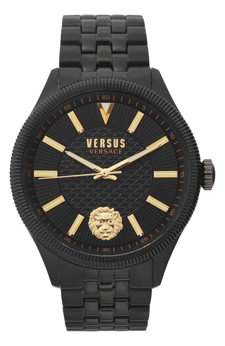 VERSUS VERSACE Colonne Bracelet Watch, 45mm, Main, color, 001