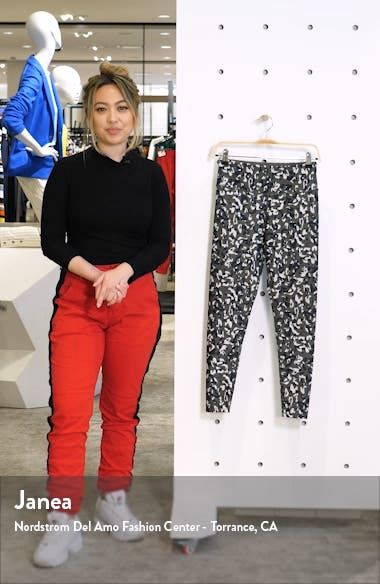 High Waist Leopard Camo Leggings, sales video thumbnail
