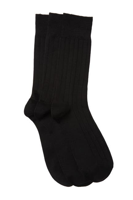Image of Nordstrom Ultra Soft Crew Socks - Pack of 3