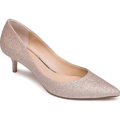Jewel Badgley Mischka Royalty Pump, Metallic