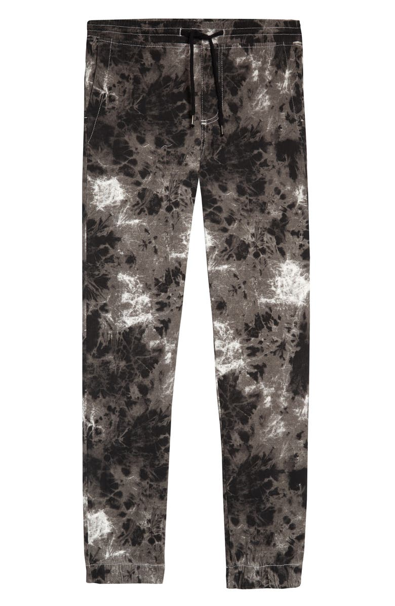 ELWOOD Print Stretch Twill Joggers, Main, color, 001