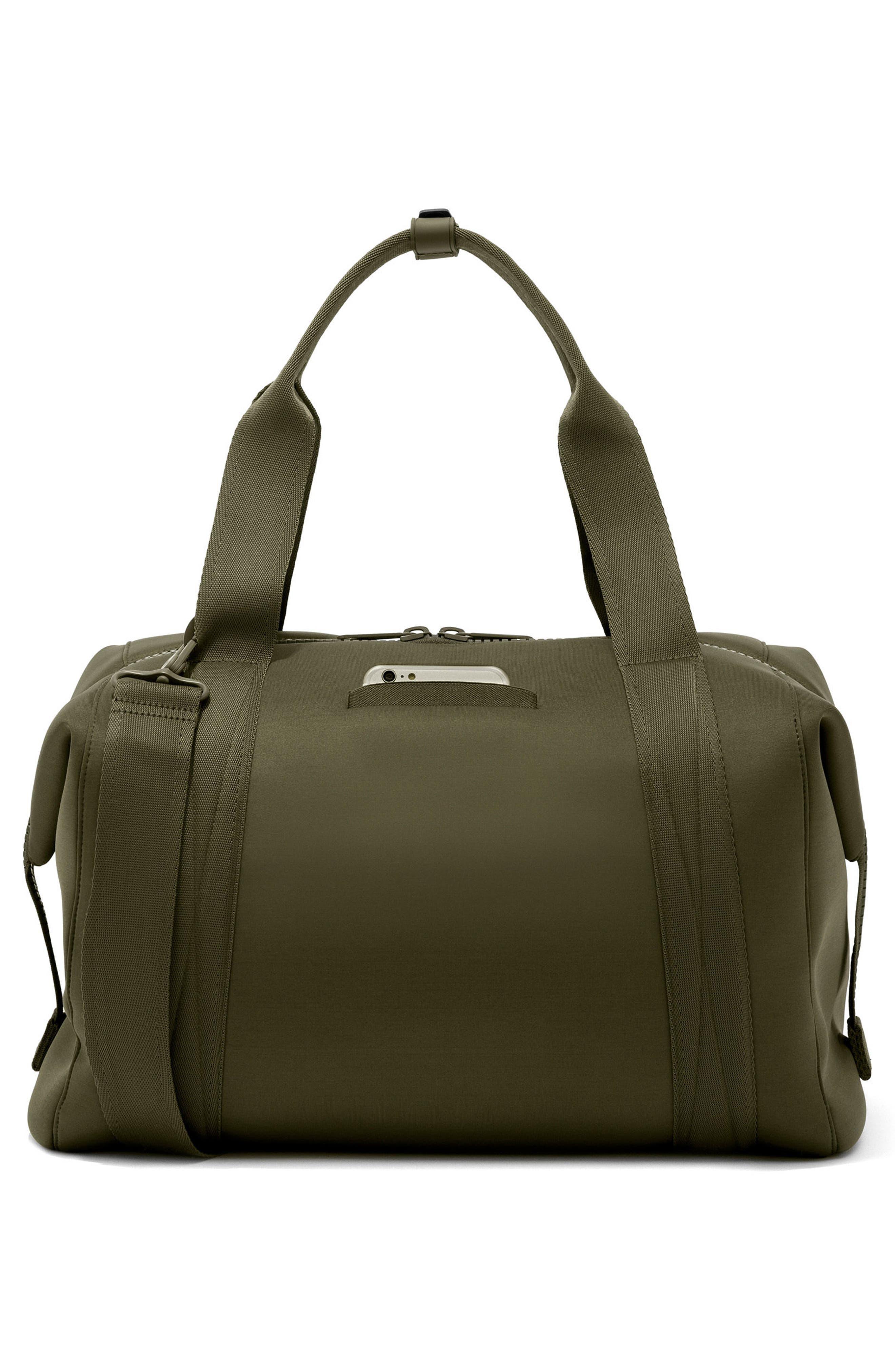 ,                             365 Large Landon Neoprene Carryall Duffle Bag,                             Alternate thumbnail 2, color,                             DARK MOSS