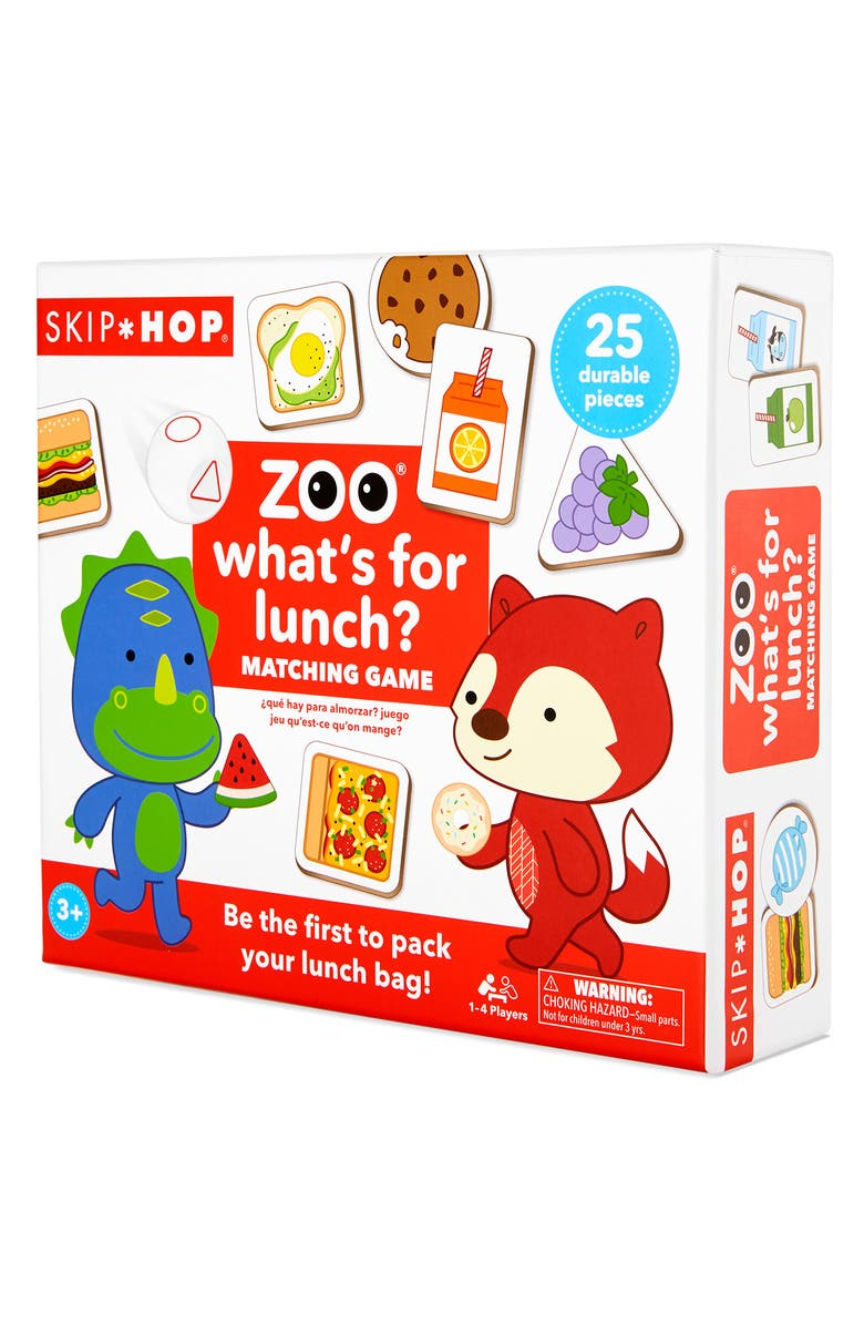 SKIP HOP Zoo What's for Lunch Game, Main, color, 960