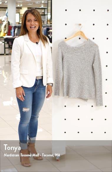 Jessica Asymmetrical Sweater, sales video thumbnail