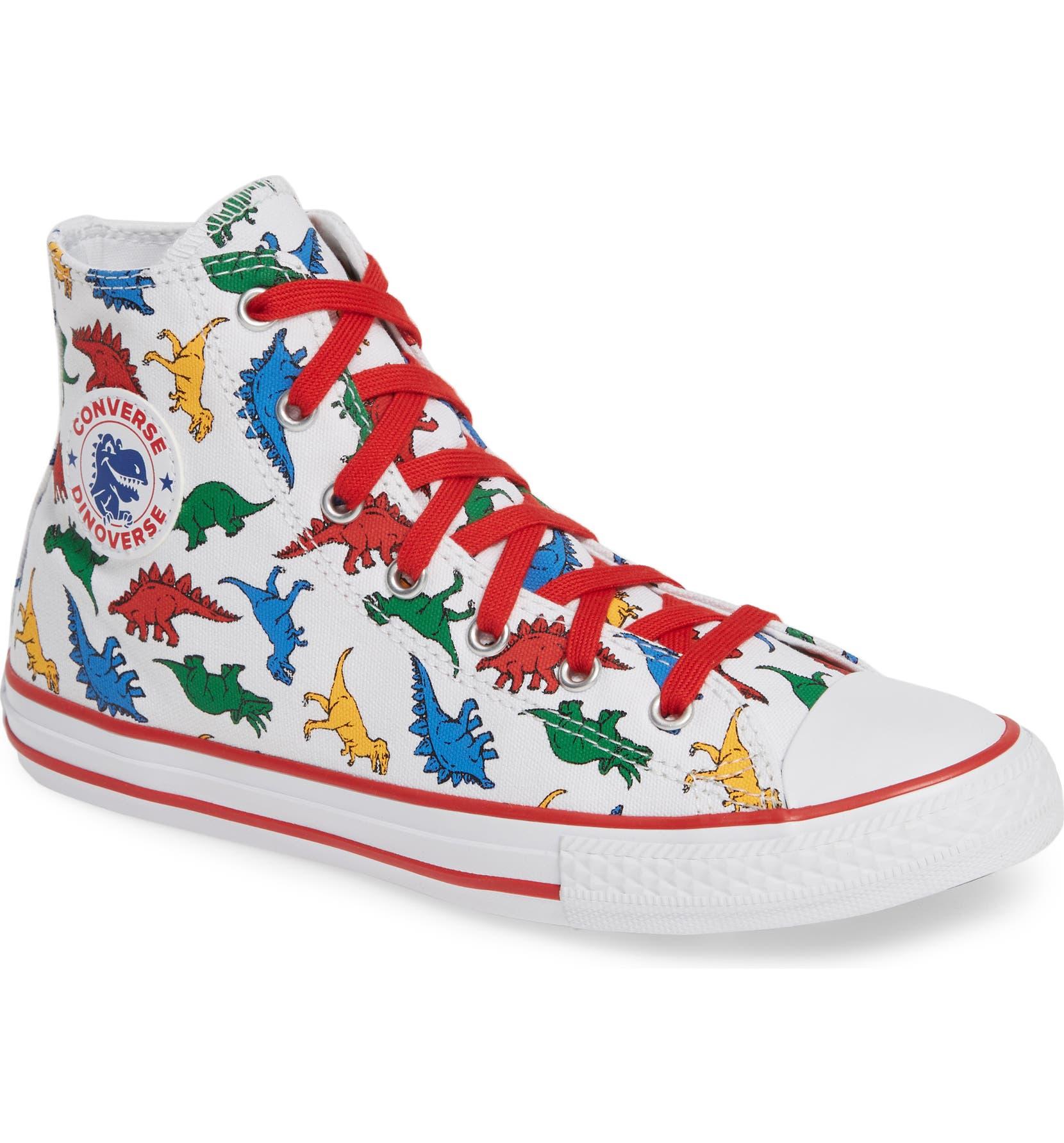 Converse Chuck Taylor® All Star® Dino High Top Sneaker (Baby