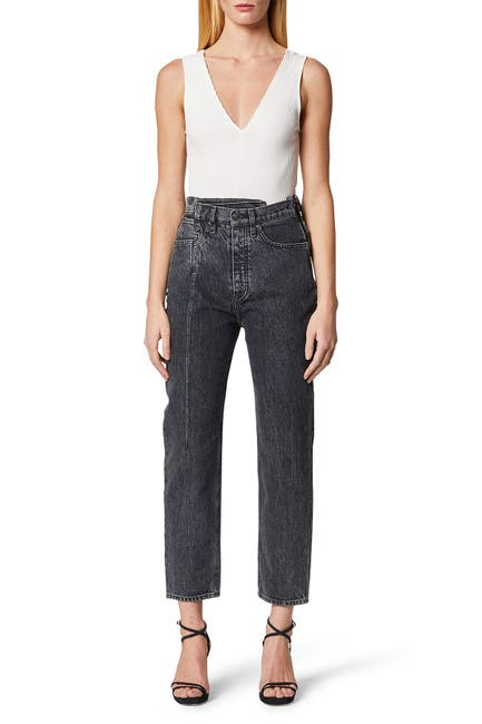Image of HUDSON Jeans Elly Folded Crop Tapered Jeans