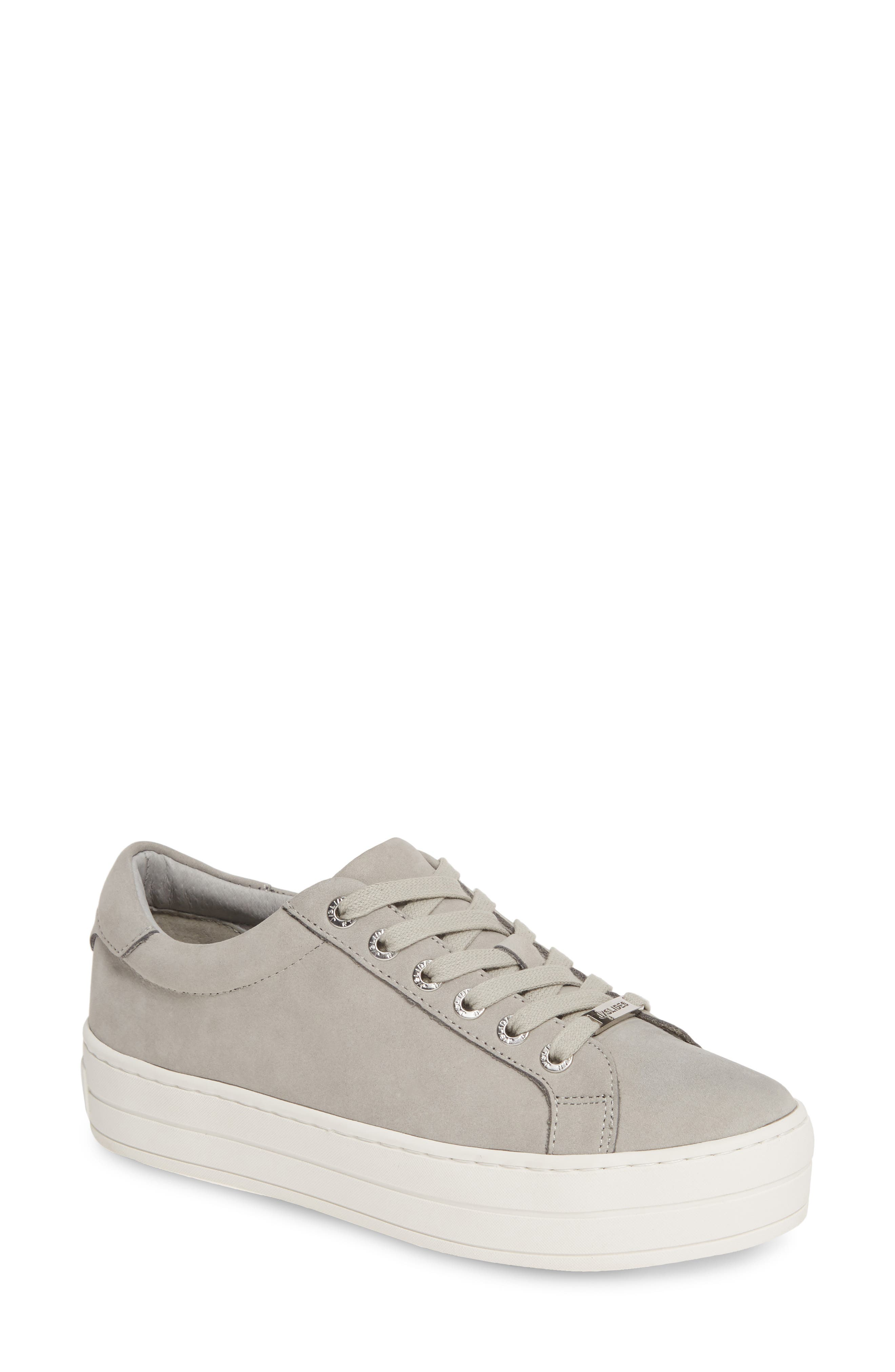 Jslides Hippie Platform Sneaker, Grey
