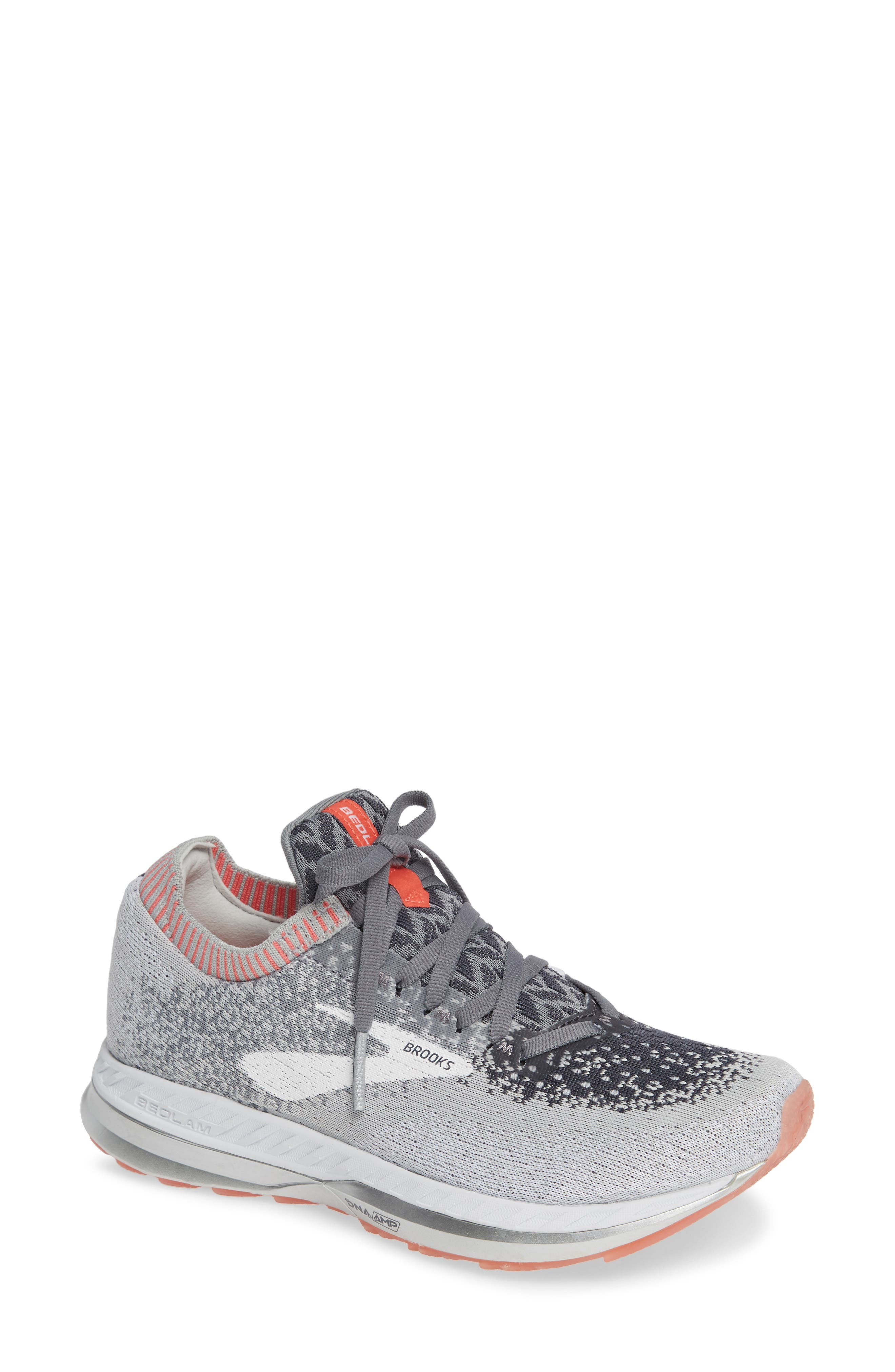 Brooks Bedlam Running Shoe, Grey