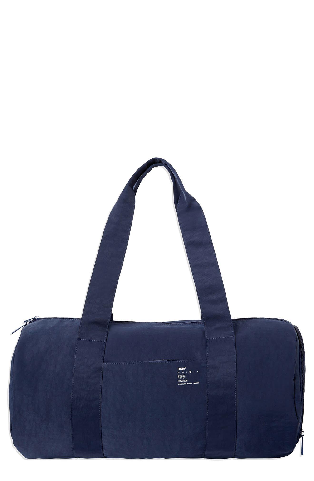 Crinkle Duffle Bag