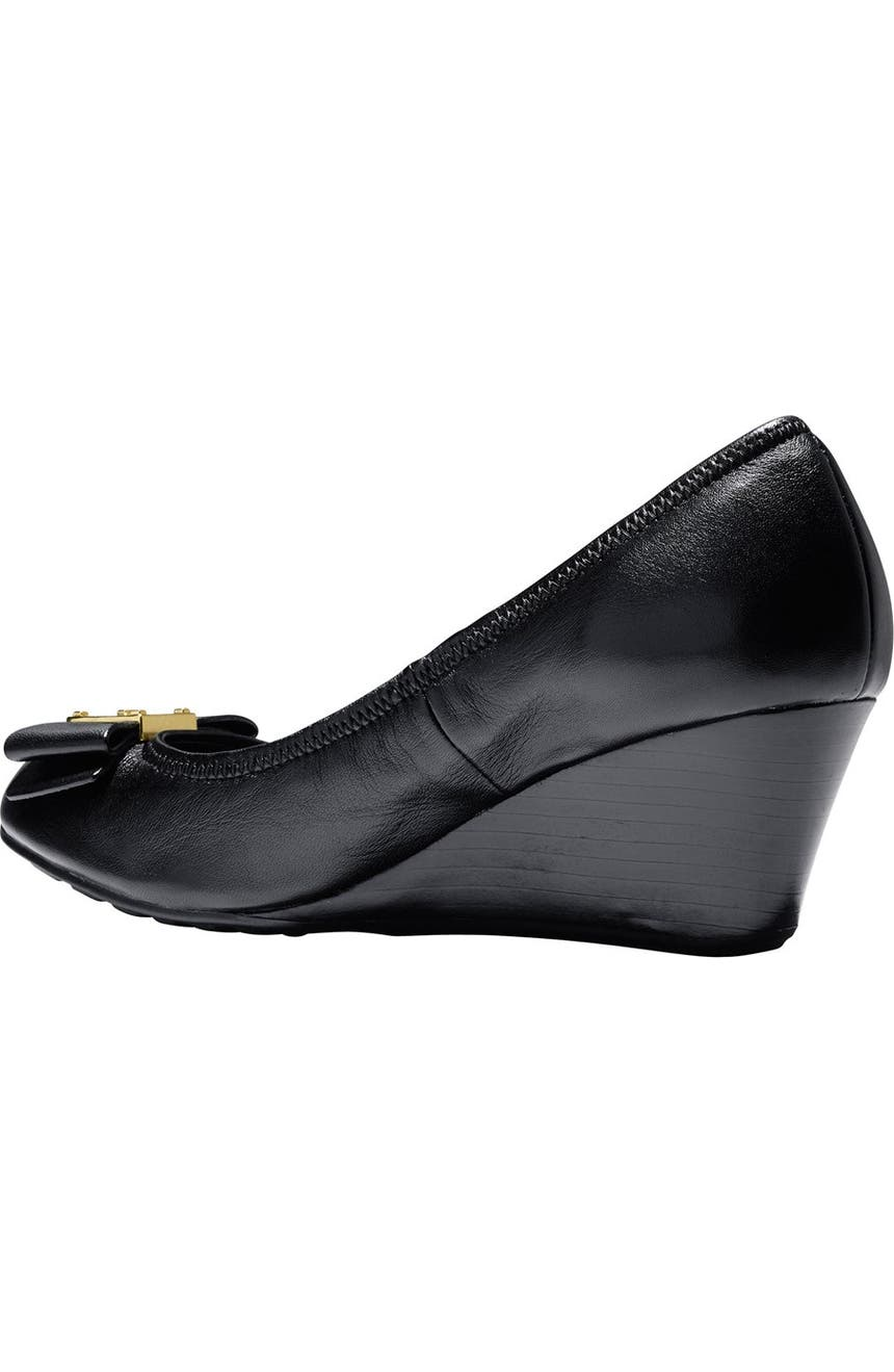 6fc7d19ce Cole Haan 'Tali Grand' Bow Wedge Pump (Women) | Nordstrom