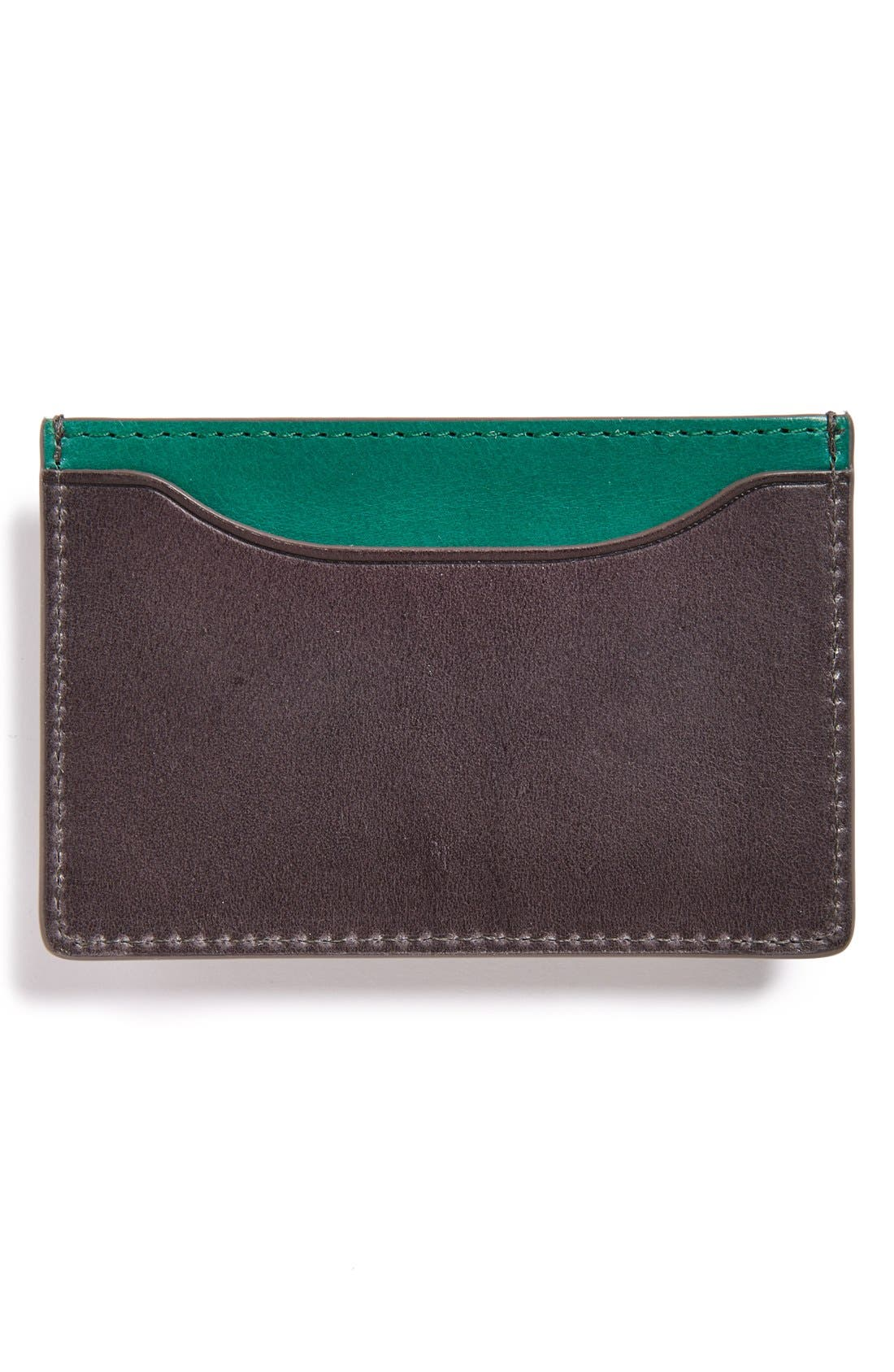 ,                             'Mitchell' Leather Card Holder,                             Alternate thumbnail 4, color,                             068