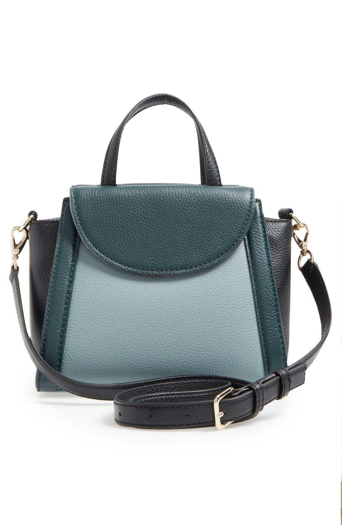,                             'cobble hill - small adrien' leather satchel,                             Alternate thumbnail 8, color,                             320