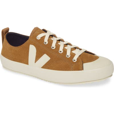Veja Nova Water Repellent Suede Sneaker, Brown