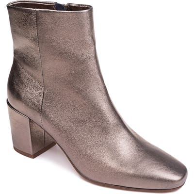 Splendid Hearther Block Heel Bootie, Metallic