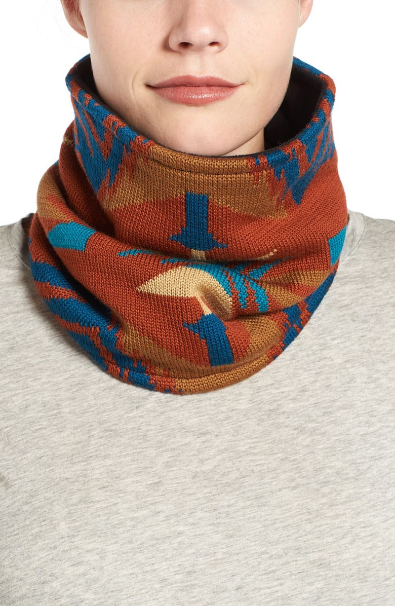 PENDLETON Merino Wool Neck Warmer, Main, color, 200