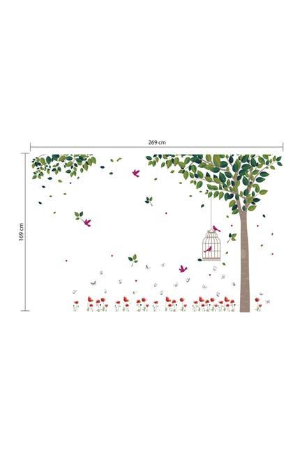 Image of WalPlus Spring Garden Decal