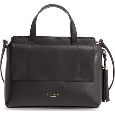 Ted Baker London Tassel Leather Top Handle Bag - Black