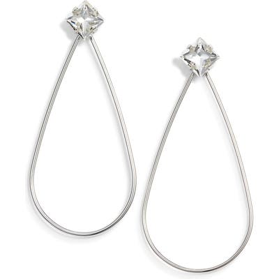 Stella + Ruby Kathryn Open Teardrop Earrings