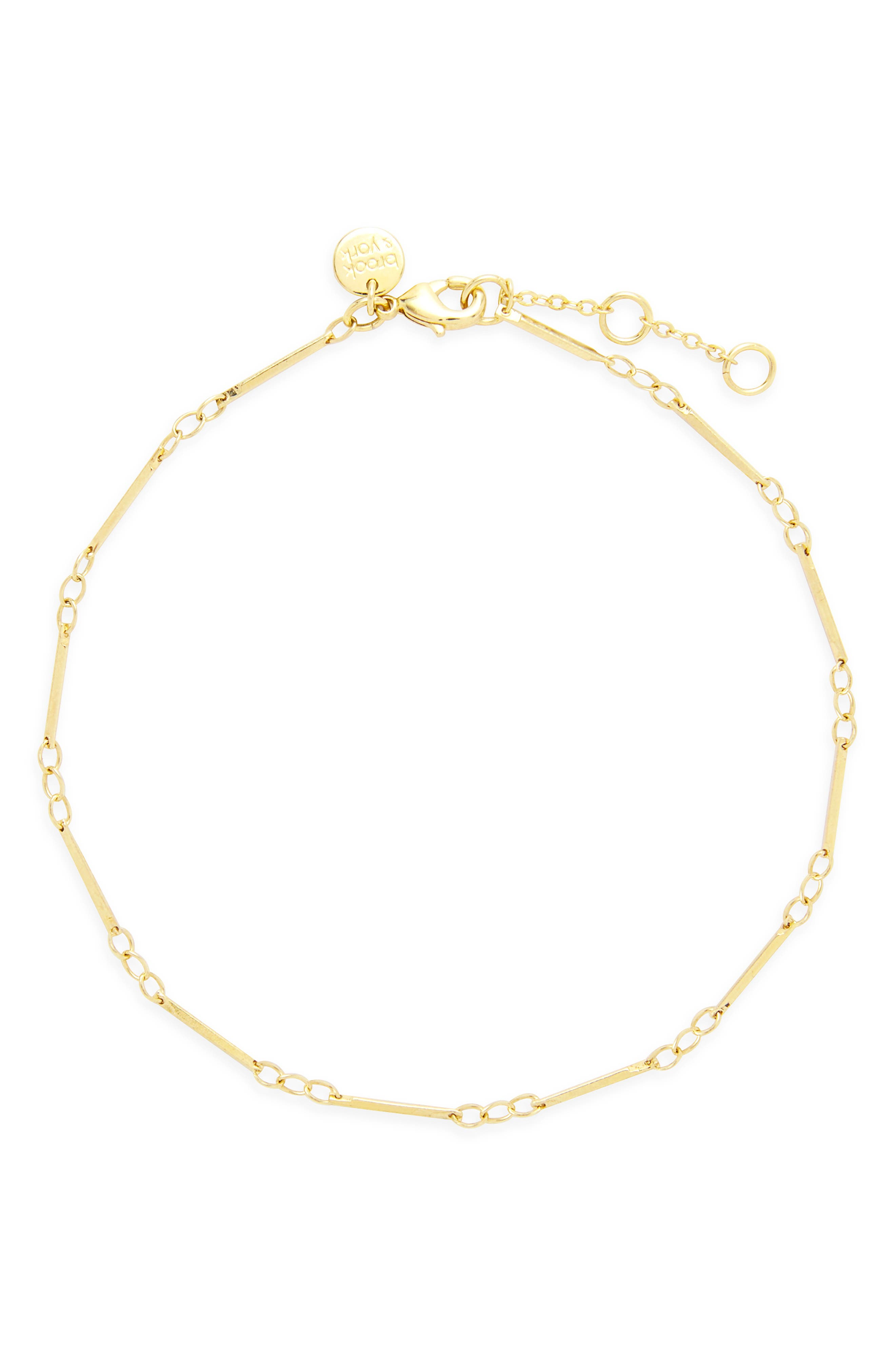 Amelia Bar Chain Anklet