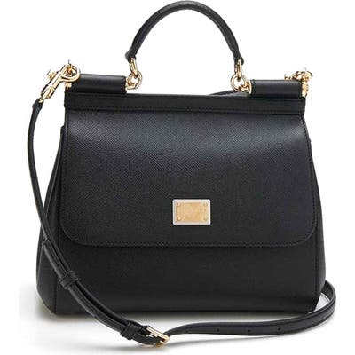 Dolce & gabbana Small Sicily Leather Satchel -