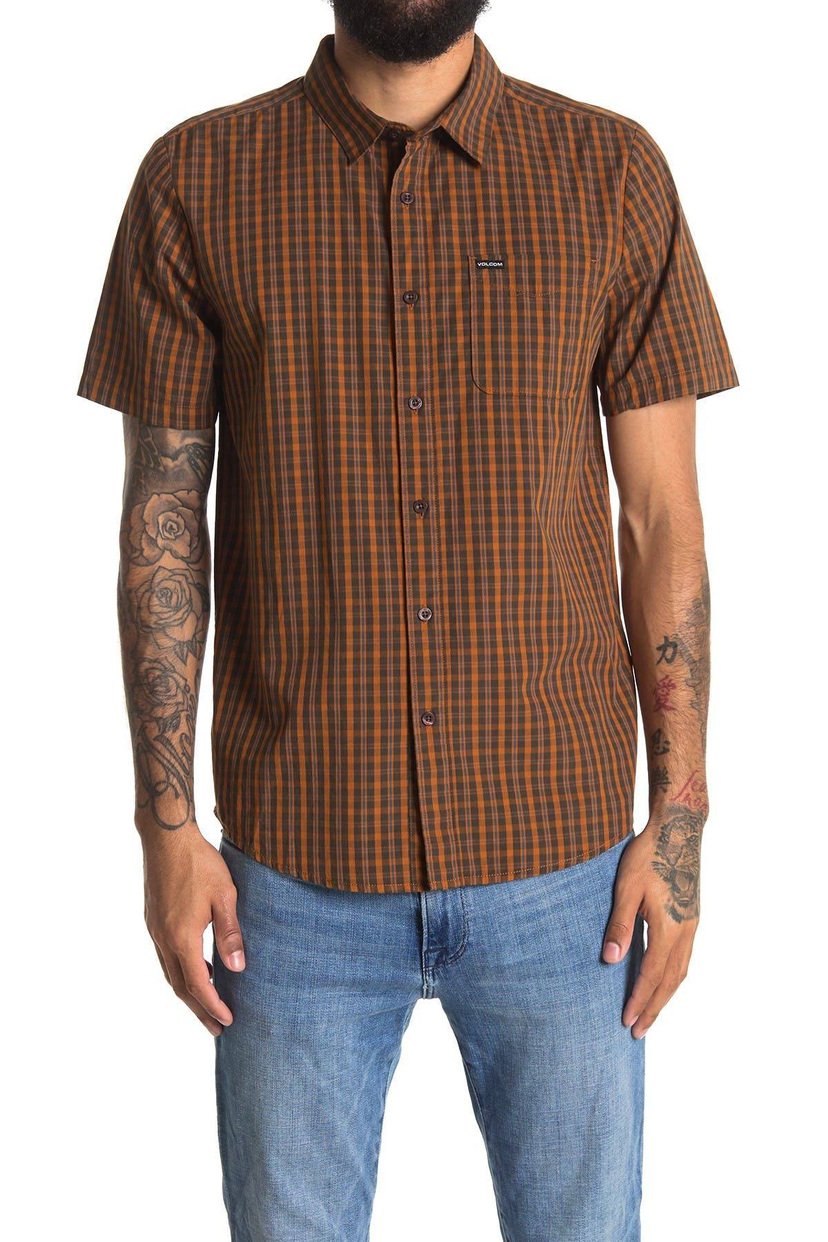 Image of Volcom Roldy Short Sleeve Shirt