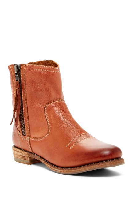 Image of Blackstone Side Zip Leather Boot