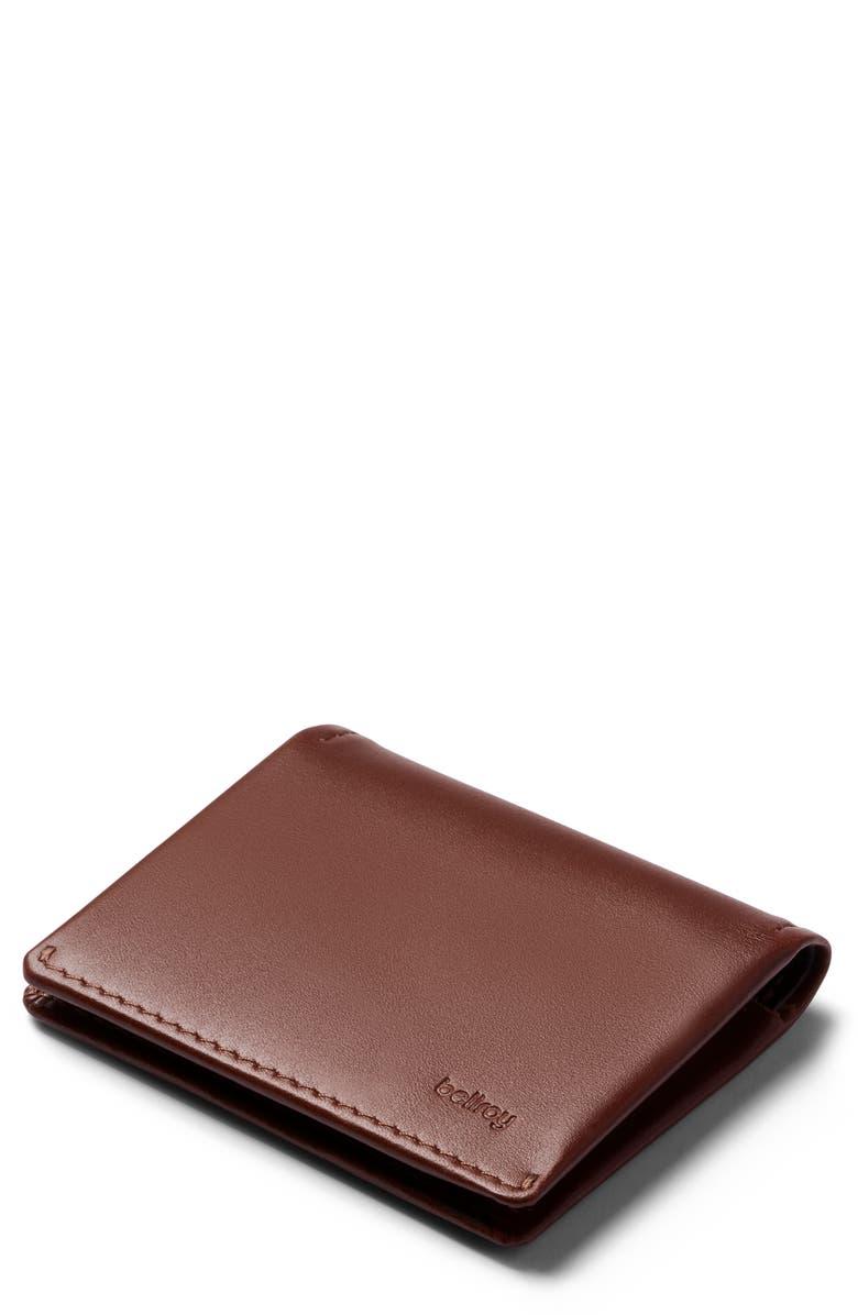 BELLROY Slim Sleeve Wallet, Main, color, COCOA JAVA