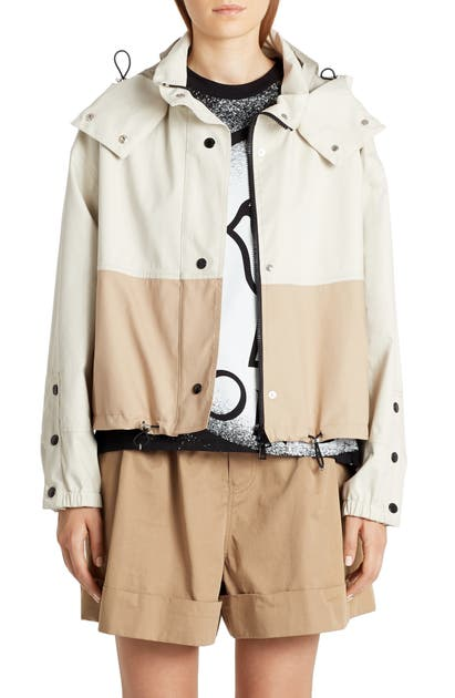 Moncler AKHAMAR WINDBREAKER JACKET WITH REMOVABLE HOOD