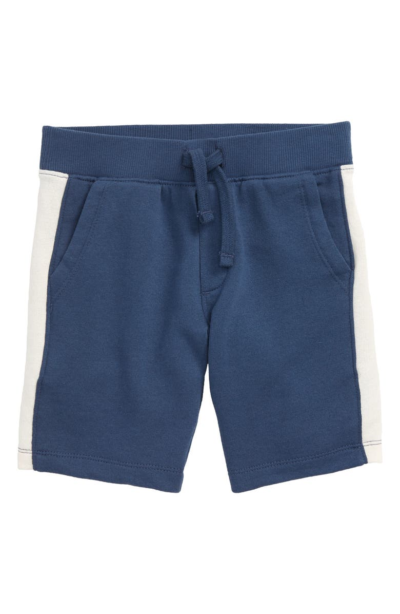 TUCKER + TATE I Can Swing High French Terry Shorts, Main, color, NAVY DENIM