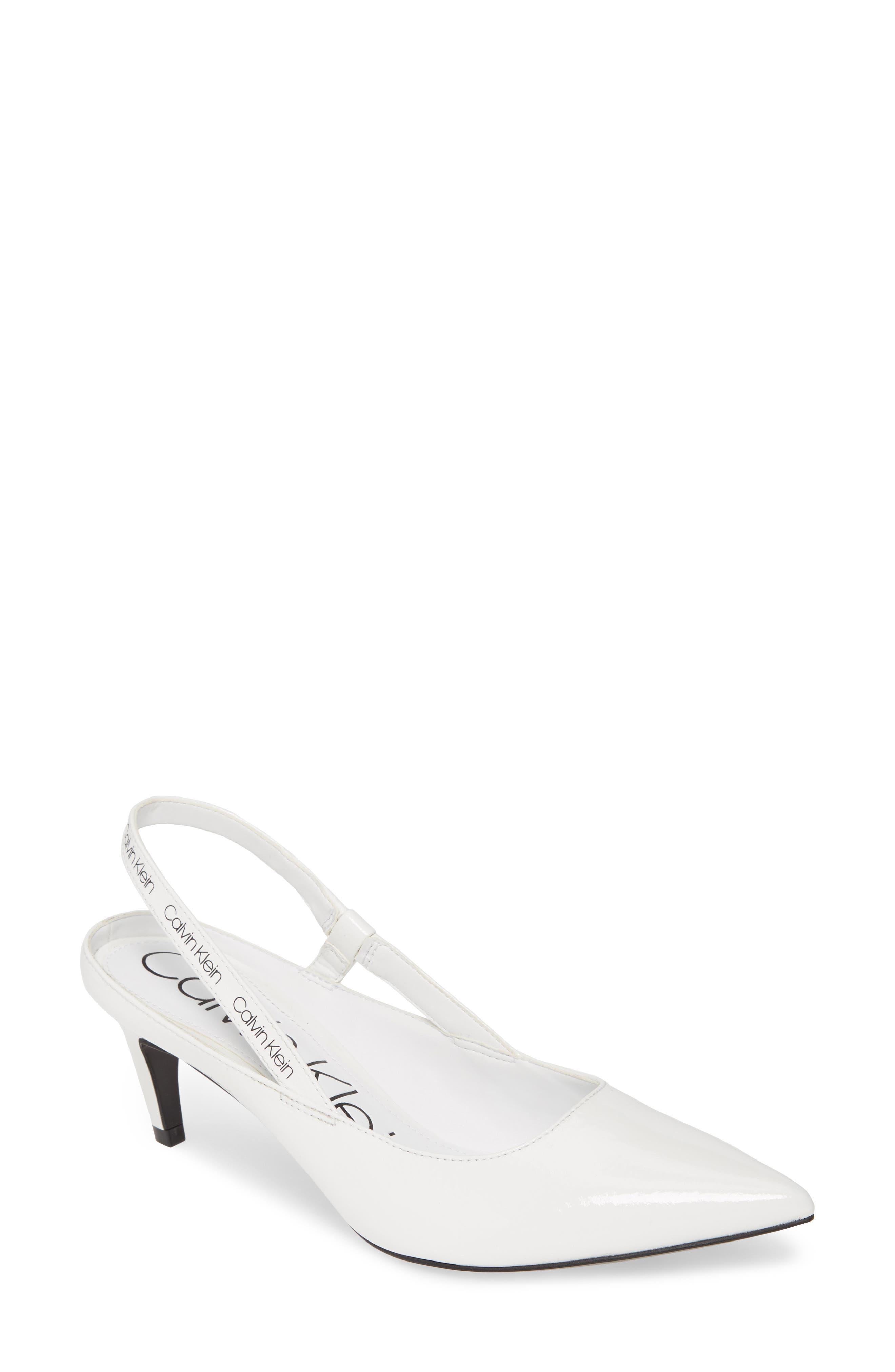 Image of Calvin Klein Greece Slingback Pump