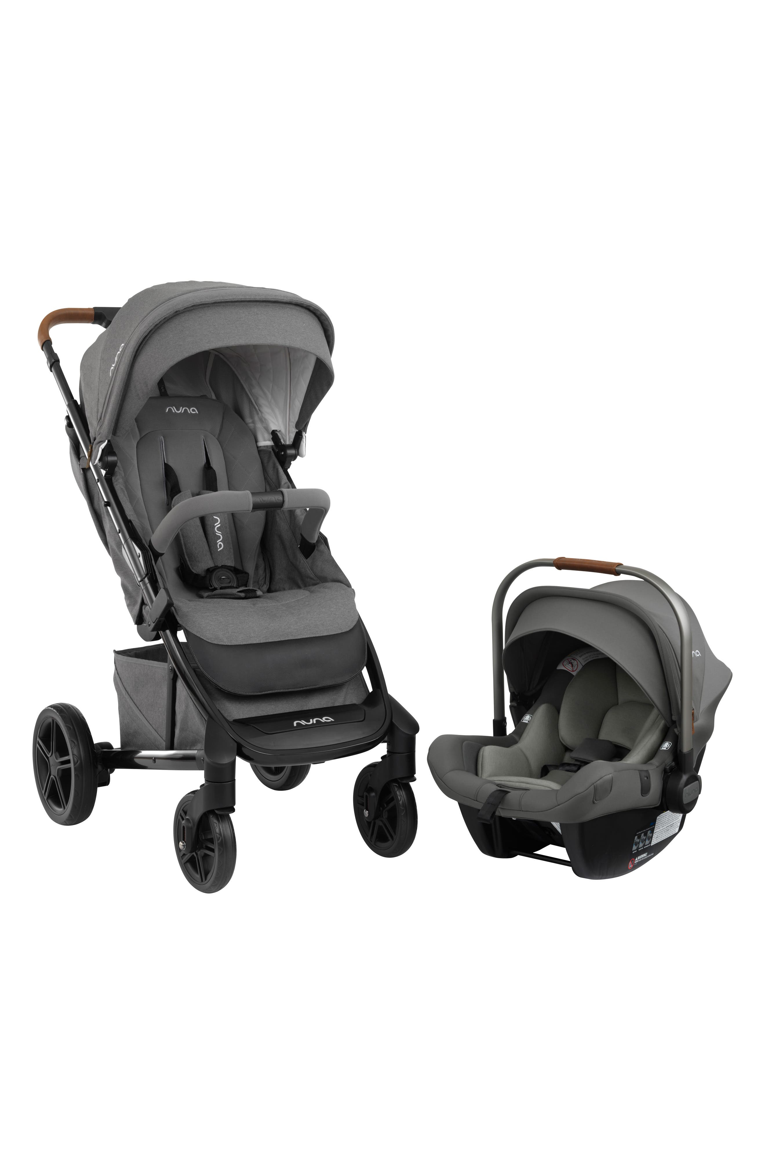 ,                             2019 TAVO<sup>™</sup> Stroller & PIPA<sup>™</sup> Lite LX Car Seat Travel System,                             Alternate thumbnail 3, color,                             GRANITE