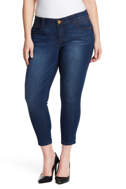 Image of Democracy Stretch Ankle Skimmer Jeans