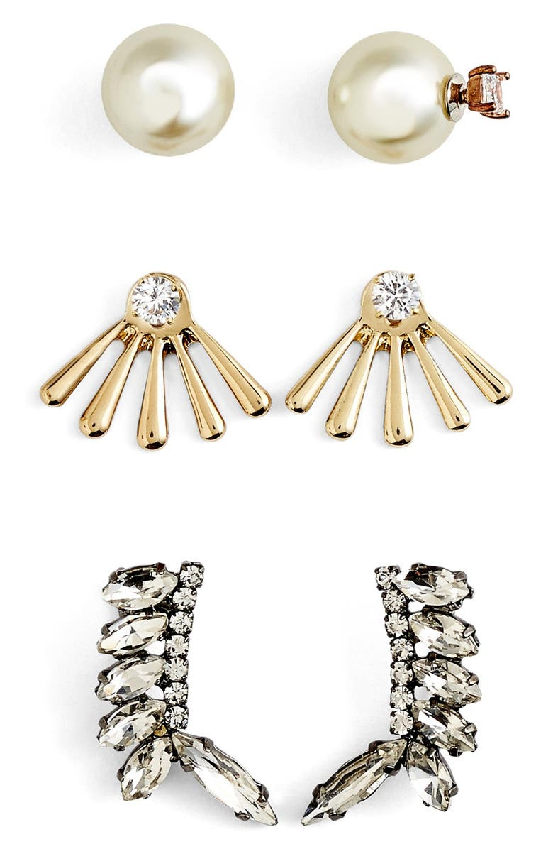BAUBLEBAR 'Adornment - Play By Ear' Earring Gift Set, Main, color, 100