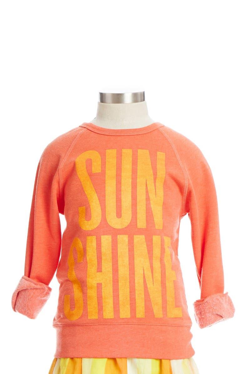 PEEK AREN'T YOU CURIOUS Peek 'Sunshine' Sweatshirt, Main, color, 800