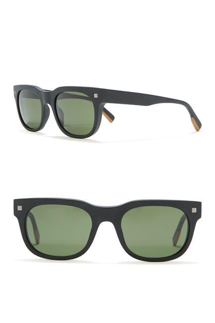 Image of Ermenegildo Zegna Square Sunglasses