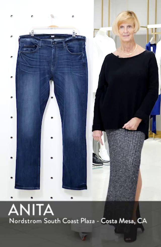Transcend Vintage Federal Slim Straight Leg Jeans, sales video thumbnail