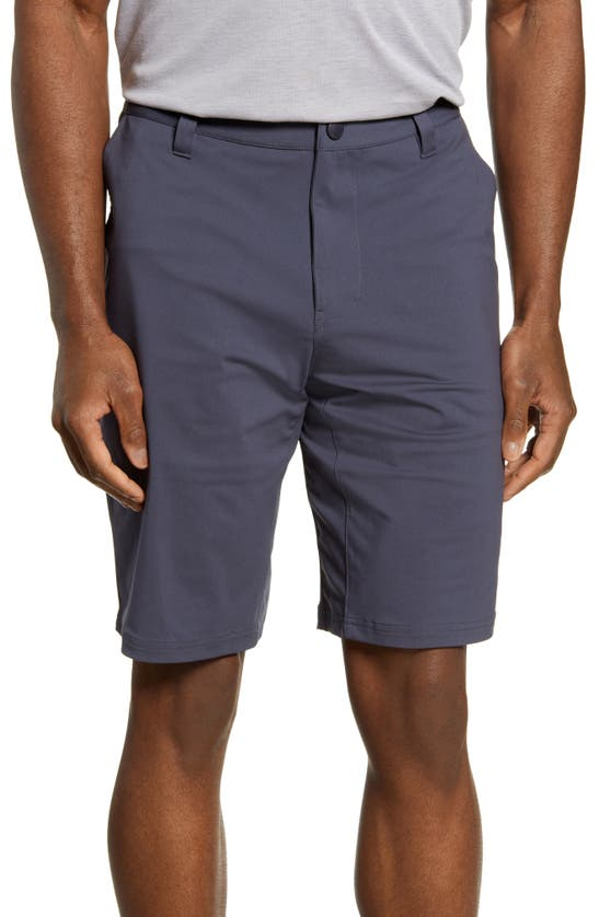 Rhone Commuter Solid Performance Shorts In Iron