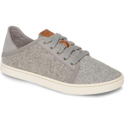 Olukai Pehuea Li Hulu Convertible Sneaker, Grey